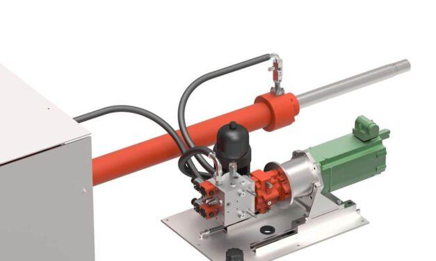 Dezentraler Linearantrieb mit AX-Pumpe