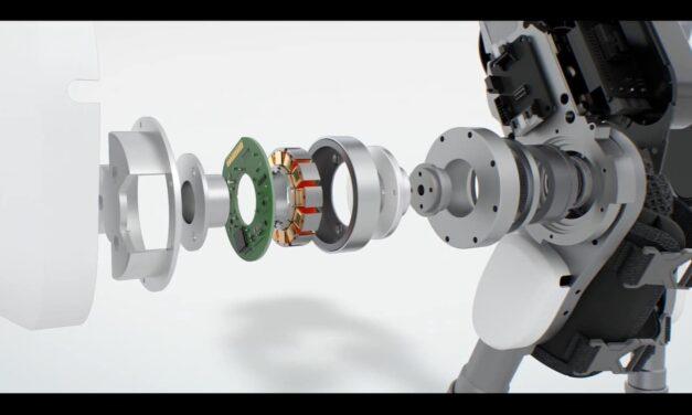 Fourier und Maxon konstruieren Exoskelette