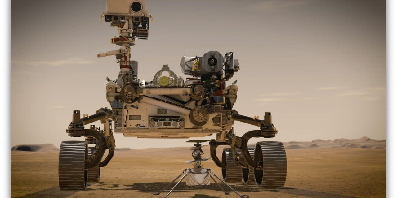 Maxon-Antriebe in Marsmission unterwegs