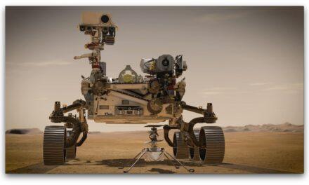 Maxon-Antriebe in Marsmission unterwegs