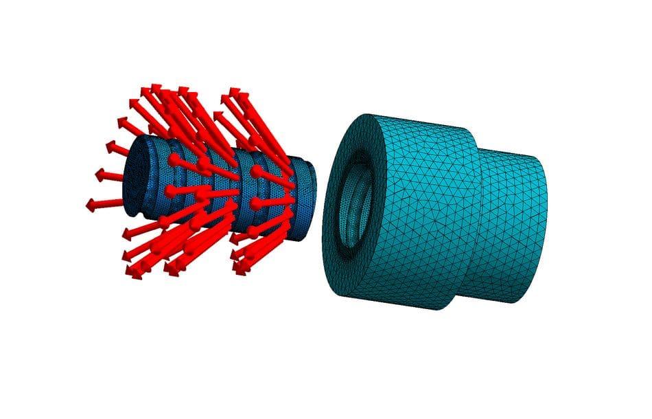 Simulationssoftware für Kugelgewindetriebe