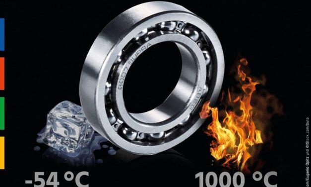 Xtemp: Kugellager einsetzbar bis 1000 °