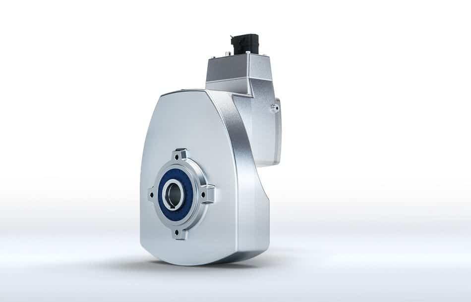 Getriebe mit integriertem IE5+-Synchronmotor