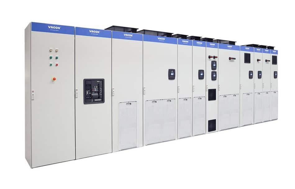 Kompakter Frequenzumrichter ohne Luftkanäle