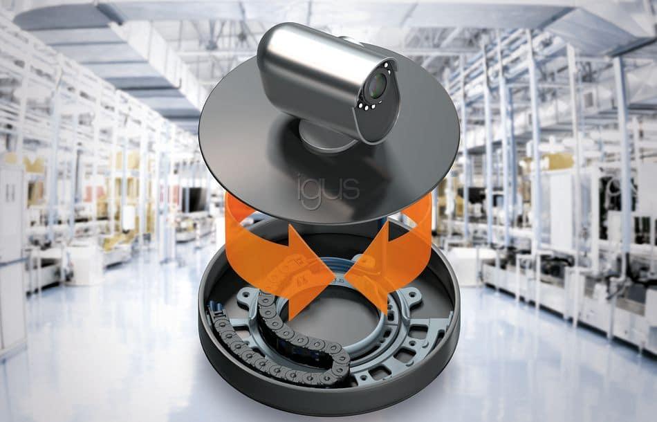 Dreh-Energieführungen aus Kunststoff