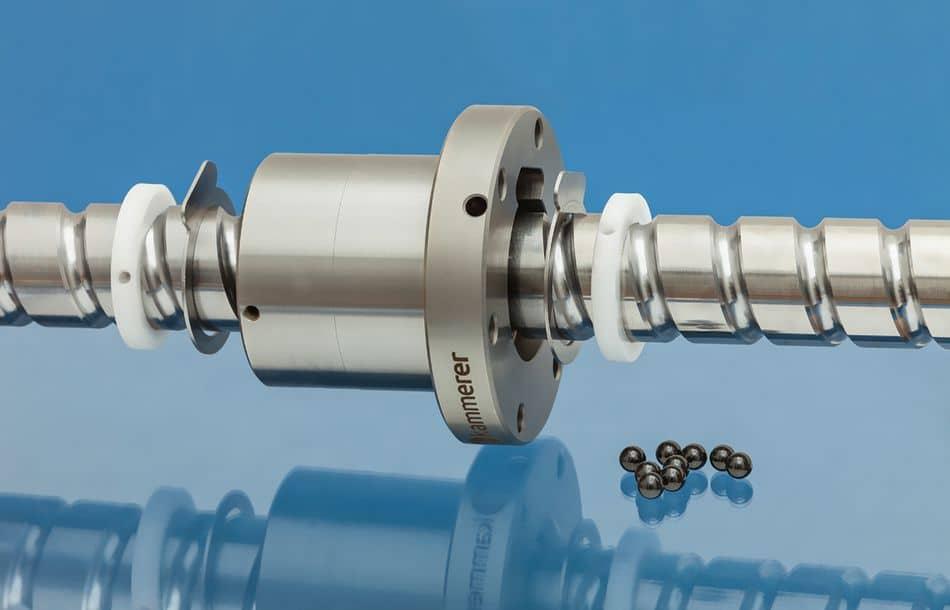Kugelgewindetriebe: FDA-konform mit hohem Wirkungsgrad